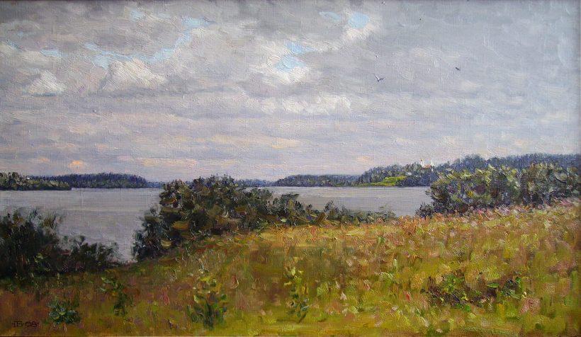 Озеро Мстино. 2008. 40 х 70