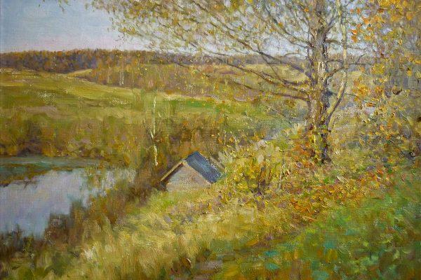 Золотая осень. 2007. 45 х 60