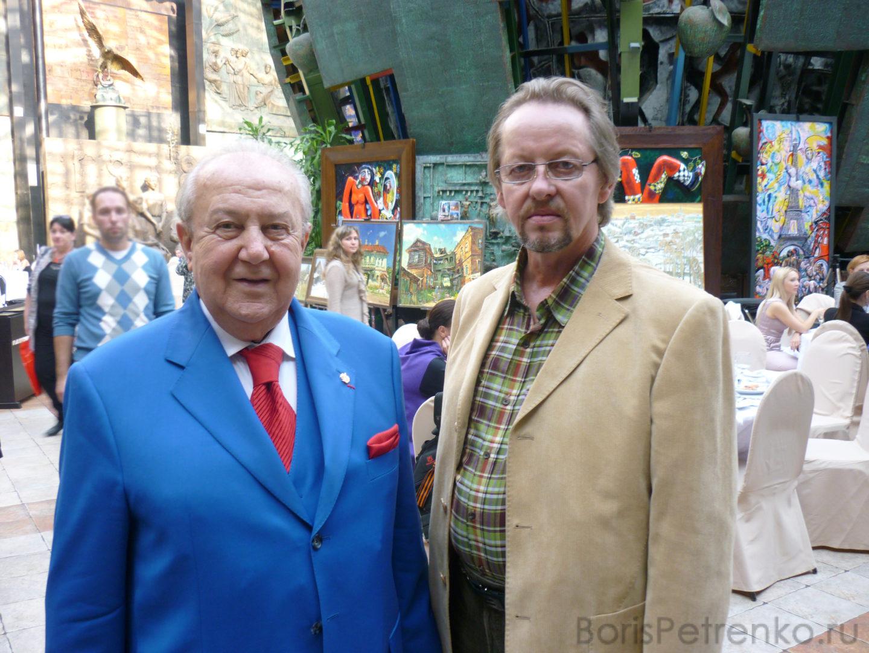 Зураб Царителли и Борис Петренко. Премии Центрального федерального округа в области литературы и искусства 2013 года